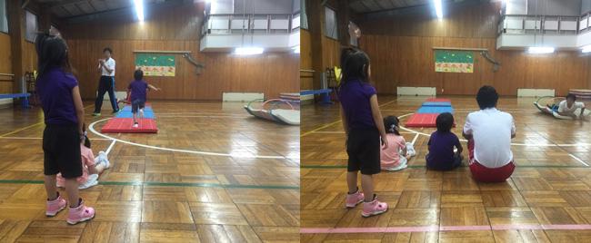 ダウン症をもつお子さんたちの運動プログラム